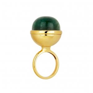 Sphere Ring Aventurin