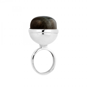 Sphere Ring Labratorite