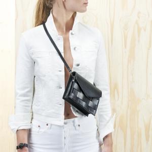 Eduards Accessories Näver Mini Shoulder Bag Black2