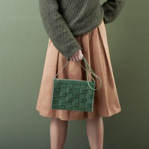 Eduards Accessories Näver Small Shoulder Bag Green2